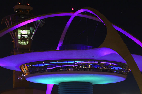 Space Arch at Los Angeles airport