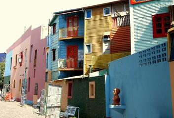 Keuken foto achterwand Buenos Aires caminito