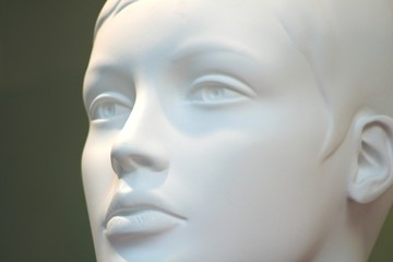 visage de mannequin