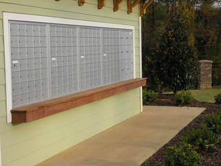 mailboxes in sun