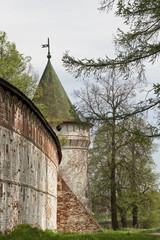 ipatievsky monastery in kostroma, russia.