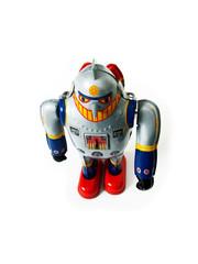 metal toy robot
