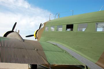 Wall Mural - legendary world war ii junkers 52 aircraft