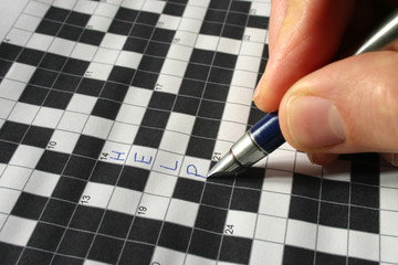writing help on a crossword