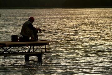 angler and lake 1