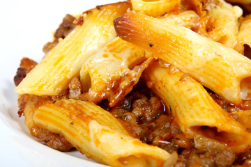 Home made pasta and mince easy recipe