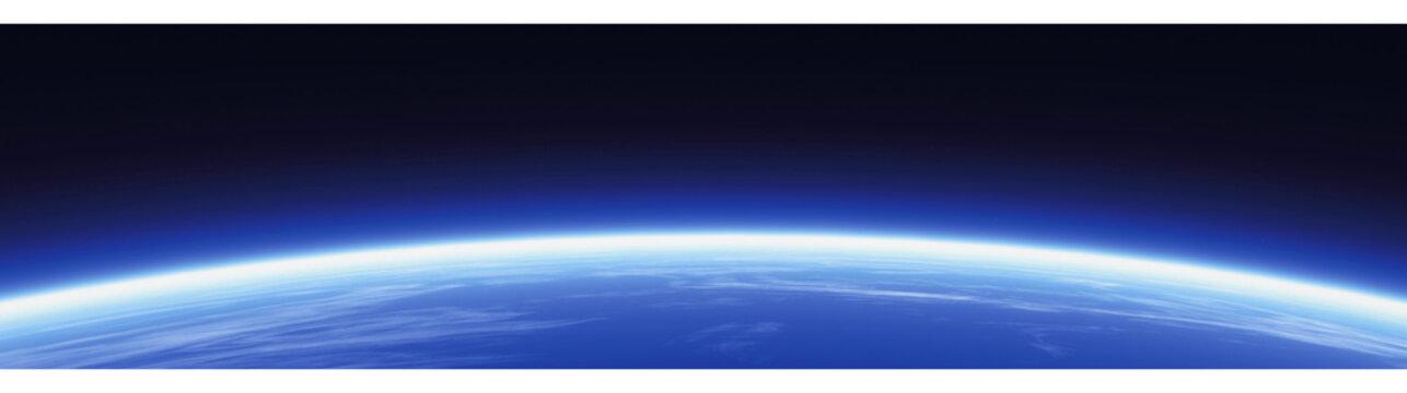horizon and world banner