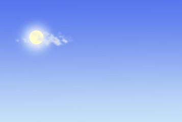 soleil éblouissant