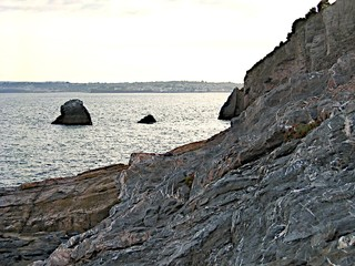rocky coast of torquay