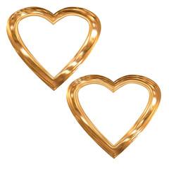 heart - frame_gold