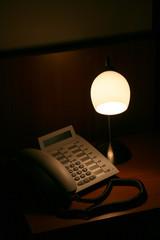 telefon und lampe