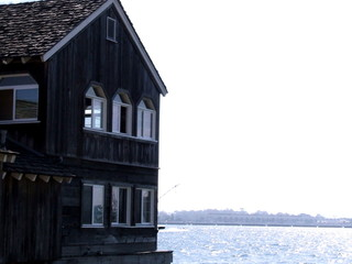 house on water