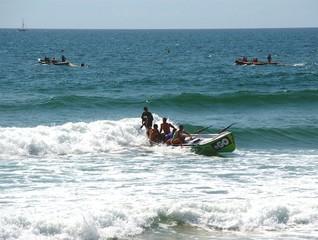 surfboat practice 1.