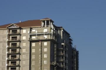 top floors of building