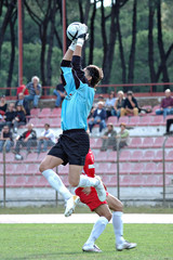 soccer football goal keeper