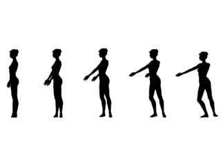 part 5 fouette turns silhouettes