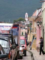 voitures dans san cristobal