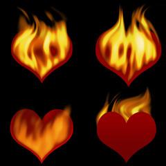 hearts on fire_set