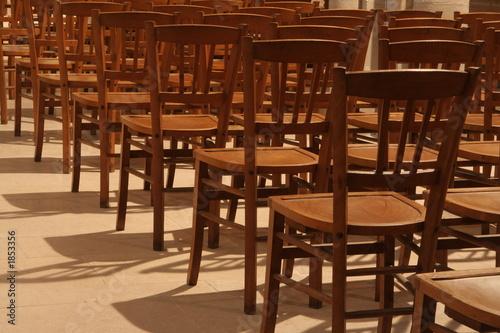 chaise d 39 glise photo libre de droits sur la banque d 39 images image 1853356. Black Bedroom Furniture Sets. Home Design Ideas