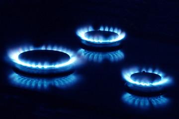 three burners