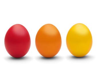 rot, orange, gelb