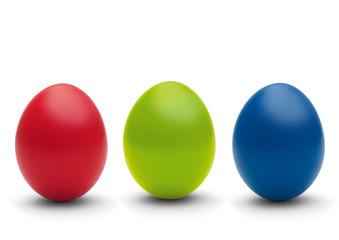 rot, grün, blau