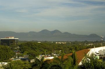view of managua