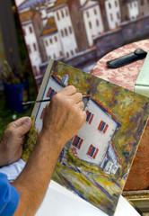 man painting 2