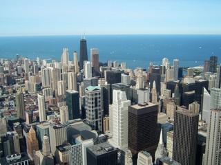 chicago depuis la sears tower