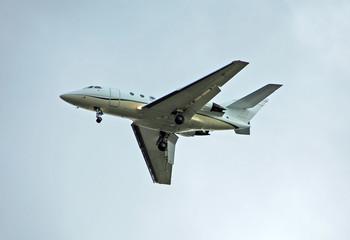 corporate travel jet airplane