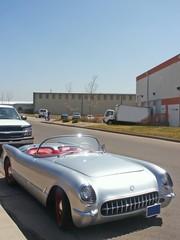 Fototapete - classic corvette