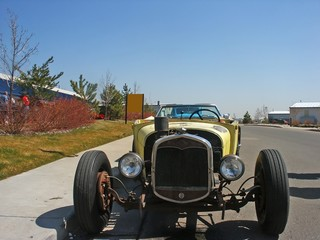 Wall Mural - old rat rod hotrod