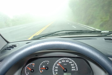 driving in a fog