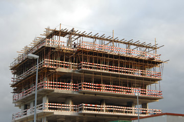 construction of a new building