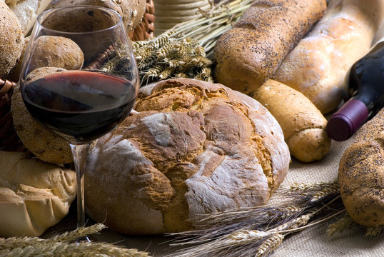 wine and bread 2 12-10