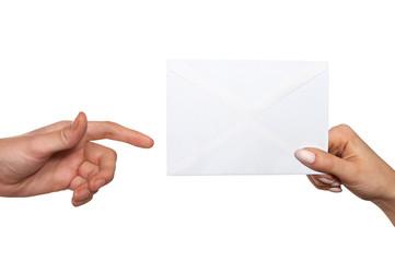 passing envelope