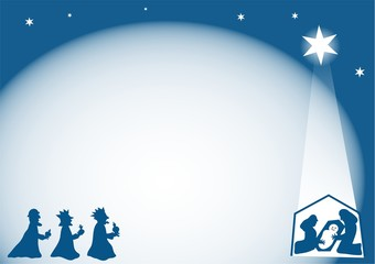 nativity background