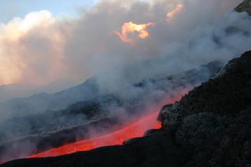 Poster Volcano etna 0014