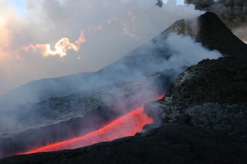Poster Volcano etna 0011