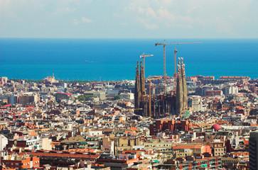 panorama in barcelona,