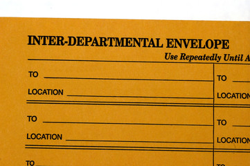 interdepartmental envelope