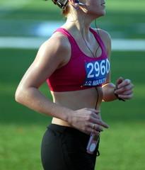 runner from side