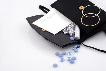 hand-bag contents