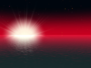 red sunshining