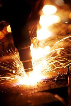 découpe d'acier