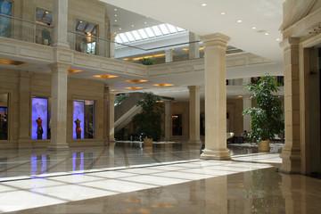 foyer of shop
