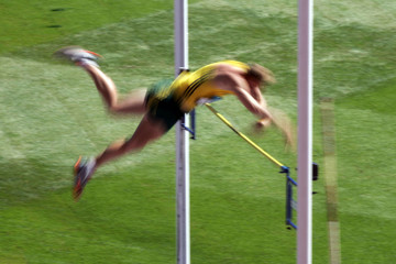 pole vaulting effects
