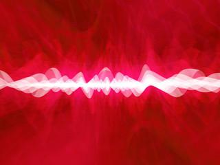 deep red distortion