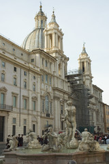 baroque church in rome