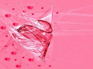 valentines fantasy background
